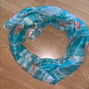 Charlotte Russe spring/summer pineapple scarf